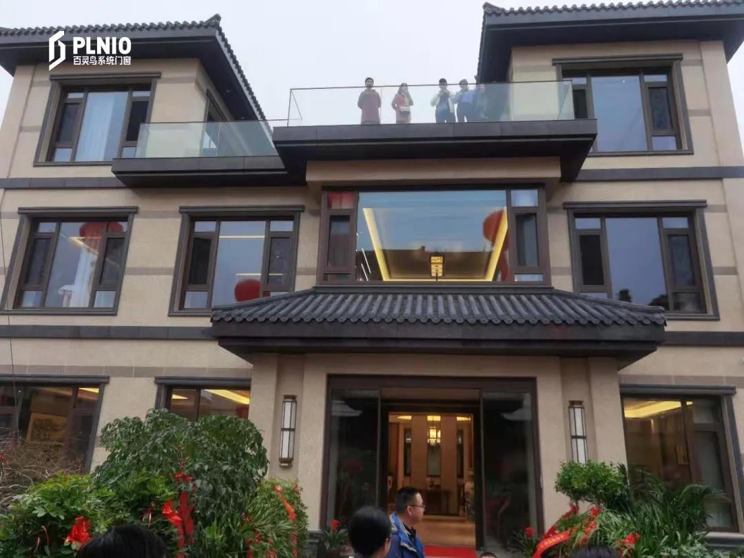 这座全屋百灵鸟门窗的别墅,温柔了岁月,惊艳了时光!
